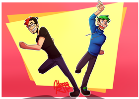 Mark and Jack! :D by aileenarip
