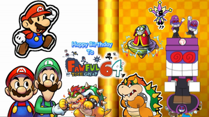 Happy Birthday to Fawfulthegreat64 by ericgl1996