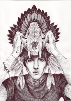 Oliver Sykes by xChemicalWinterx