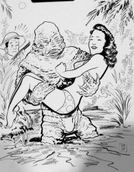 Creature from the Black Lagoon by Dave-Acosta