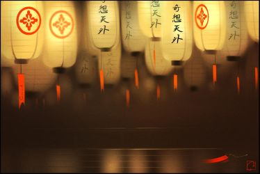 japanese lanterns by GaudiBuendia