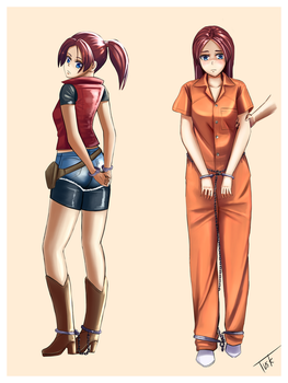 Claire Redfield [Commission] by EN17