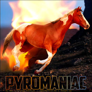HEE Horse Avatar:  Pyromaniac by VendettaImaging