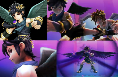 Kid Icarus Uprising Weapons Iconpaws The Snowleopard Paws 54 21 Dark Pit Images By Ayumuobessed