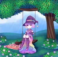 Spring Picnic by Moyll