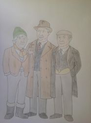 Last of the Summer Wine: Compo, Clegg and Cyril by BronyDan01