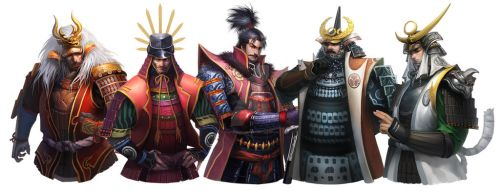Shawn-The heroes of Japanese Warring States Period by shawnfox520