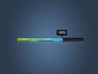 Sleek Progress Bar by nsamoylov