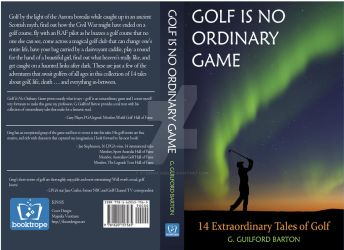 Paperback cover Golf is No Ordinary Game by eternalised