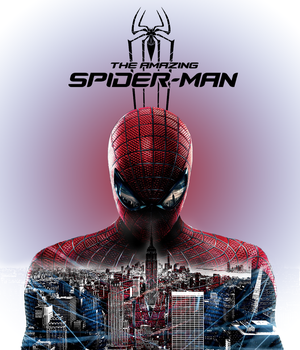 The Amazing Spiderman with Logo by Metalliex-XYZ