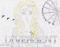 My drawing of Tris from Divergent! by AnnieLikesMuffins
