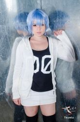 Rei Ayanami by littlezoombie