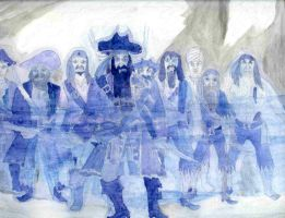 Blackbeard's Ghostly Return by ARTIST-SRF