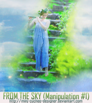 FROM THE SKY - MANIPULATION #1 by MinJ-cucheo-Designer