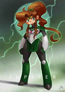 Sailor Jupiter by Vaejoun