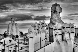 Barcelona above - revisited by Coigach