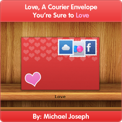 Love, A Courier Envelope by MJoseph15