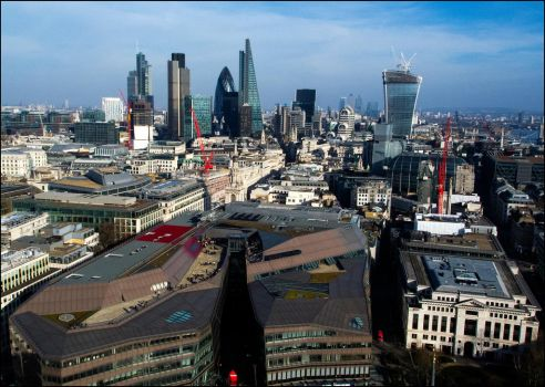 The City Of London by LordLJCornellPhotos