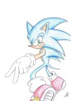 Sonic x33 by Psychograve