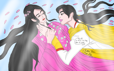 Jin Mi And Xu Feng Ashes of Love by SailorMoonFanGirl
