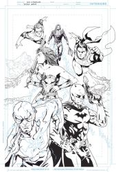 Justice League by LudoDRodriguez
