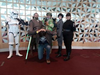Dublin Comic Con 3-Crimes against the Empire. by incoming-101