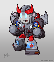 1984 Autobot Bluestreak by MattMoylan