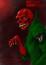 TLIID Marvel Mash-Ups Red Skull and Baron Blood by Nick-Perks