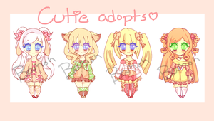 Cutie N Dottie adopts [CLOSED] by Bamoh-cchi