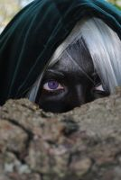 Purple lurking eyes by S-Lancaster