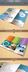 Travel Business Trifold Brochure by Saptarang