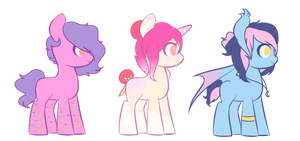 Candy Batch themed adoptables by Angelic-Shield