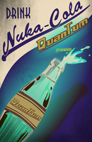 Nuka Cola Quantum Poster by LaggyCreations