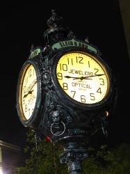 Klein and Sons 1938 Iron Clock by Duskmourne