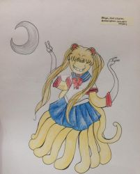 Weekly Drawing Challenge #5(1): Koro-sailor..? by PoppingTart