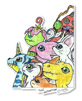 Digimon Adventure (scanned version) by chibi95