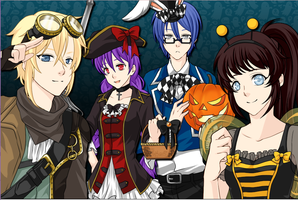 .: Halloween Party :. by thebigblackdevil5