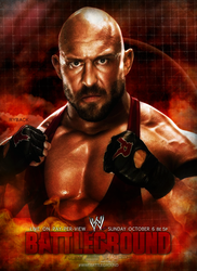 WWE Battleground 2013 Poster by thetrans4med