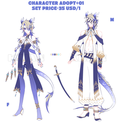 (SET PRICE CLOSE)CHARACTER_ADOPT_01 by krianart