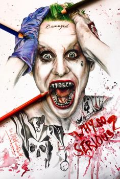 Jared Leto Joker by thefrenchberet