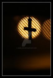 'A'Cross the light by IanBlack