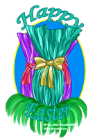 Happy Easter by Delew