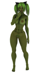 STOCK: Hypothetically Authentic Grinch, Female by ambient-avalancher
