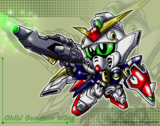 Chibi Gundam Wing by Blue-Sonikku