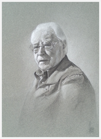 Portrait drawing of Piet by XAQT