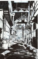 Back Alley Drawing/Practice by JoeValentineArt
