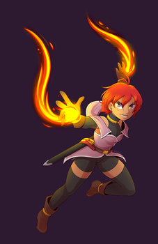 Her Flame by SaBasse