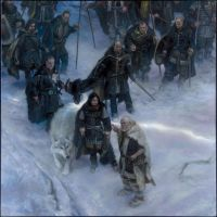 Nights Watch -A Song of Ice and Fire 2015 Calendar by DonatoArts