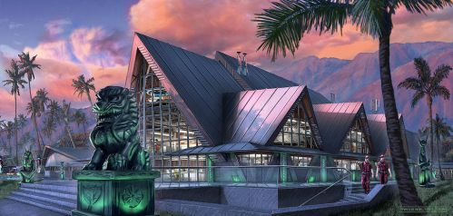Paleontologic and Archeologic Detective Institute by FranzowaR