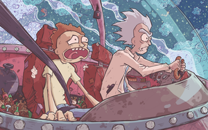 Fan Art Friday - Rick and Morty by Ghotire
